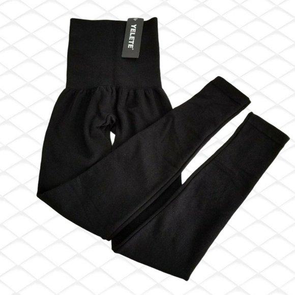 Yelete Leg Wear High Waist Compression Leggings